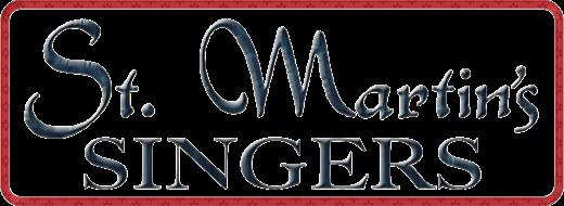 St Martin's SIngers logo